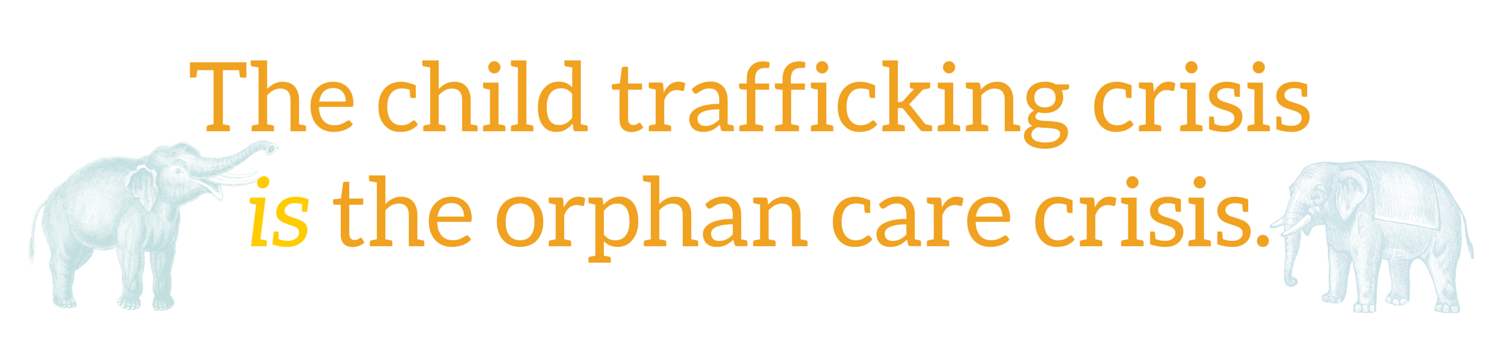 The child trafficking crisis is the