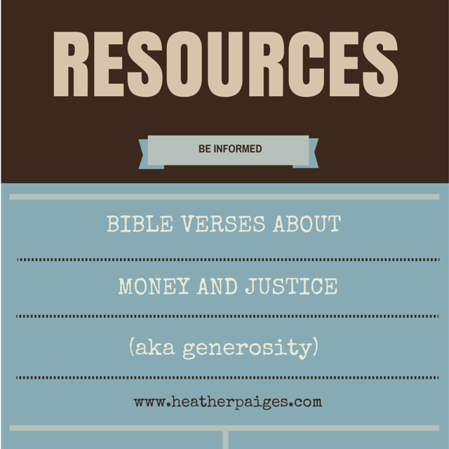 Bible Verses about Generosity